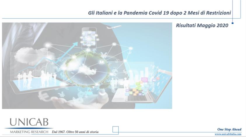 """Ricerca """"Gli Italiani e la Pandemia Covid 19 dopo 2 mesi di restrizioni"""" – Ecco le principali conclusioni"""